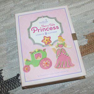 Williams Sonoma Princess Cookie Cutters 8